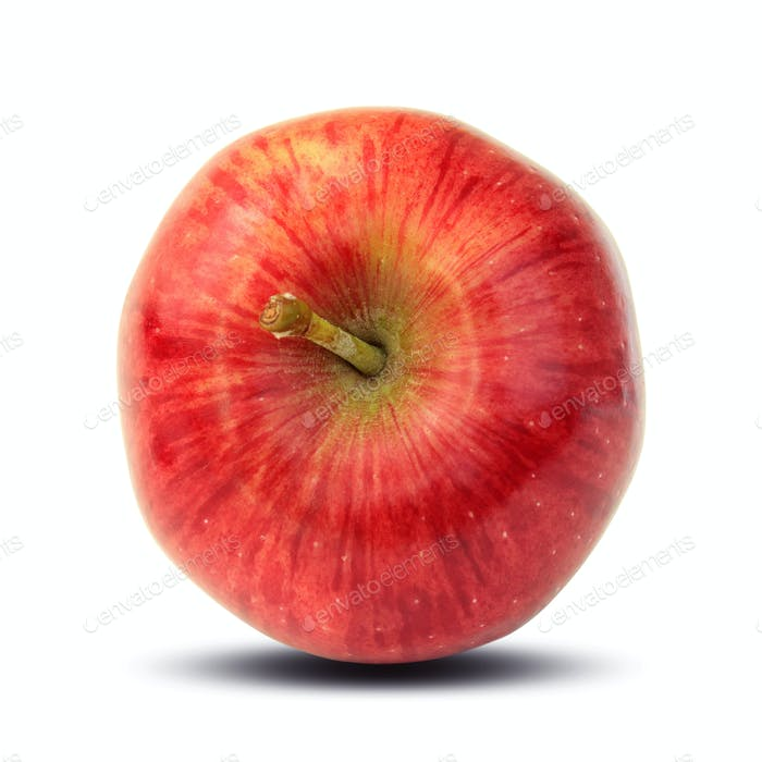 Ripe red apple