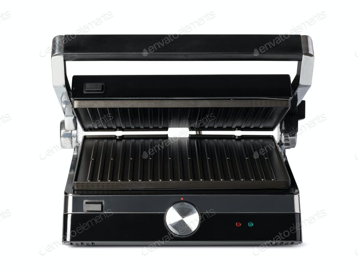 electric grill on a white background