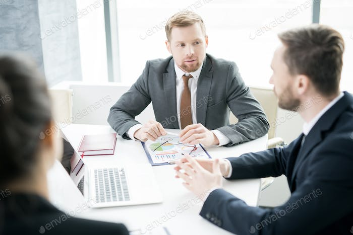 Business People Discussing Strategy