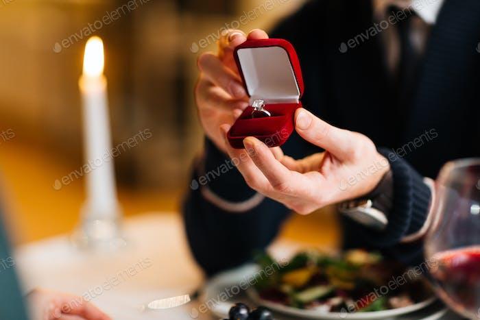 Ring für Verlobte