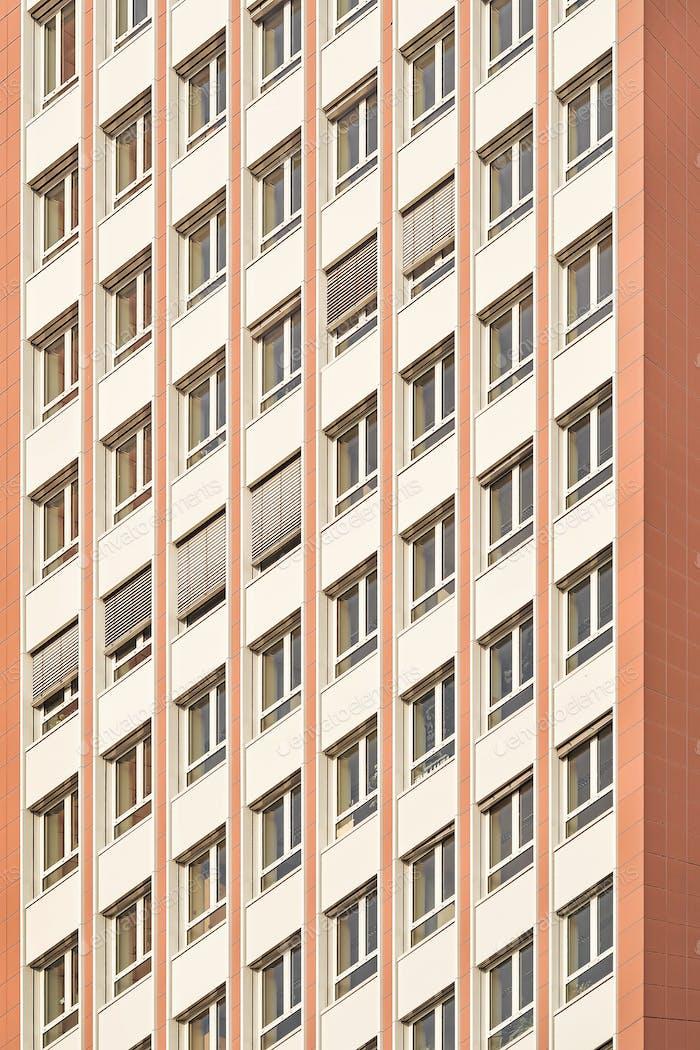 Bürogebäude Fenster