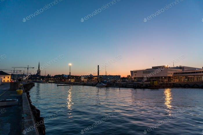 Harbour in Tallinn, Estonia