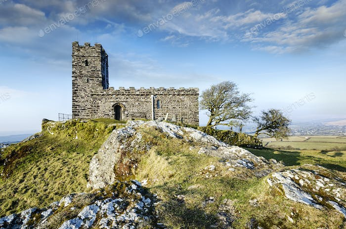 Brentor Church in Dartmoor