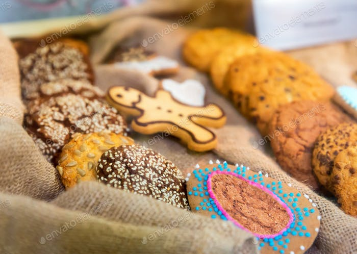 Tasty biscuits