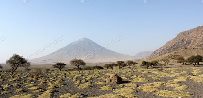 Montaña de Dios oldoinyo lengai, Tanzania