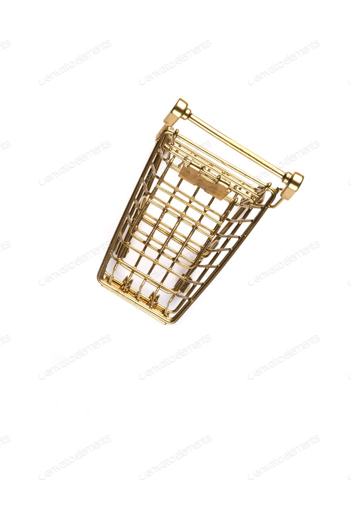 Shopping cart trolley basket