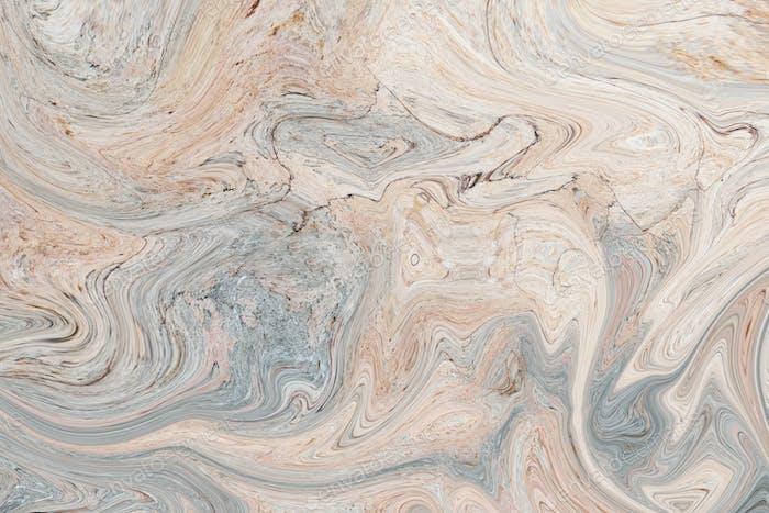 Fluid marble textured wallpaper design