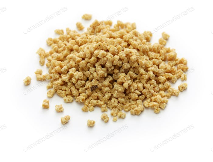 soya mince, textured vegetable protein