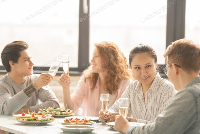 Couples by dinner