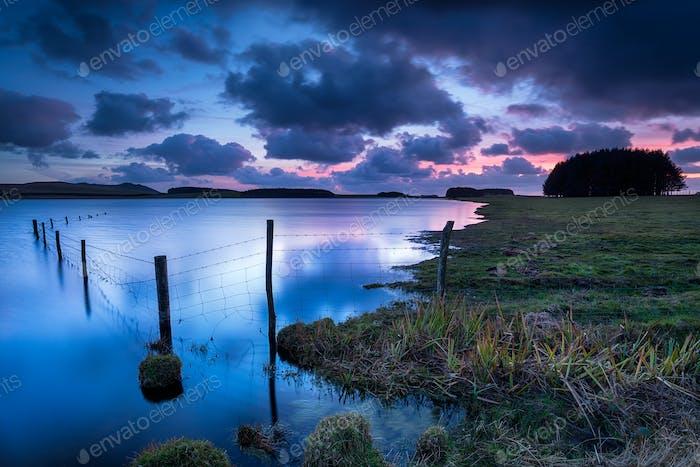 Das Crowdy Reservoir in Cornwall