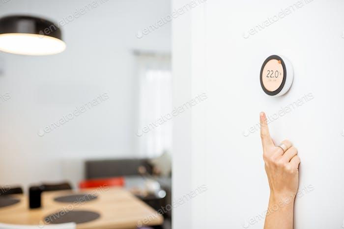 Smart-Home-Heizsystem
