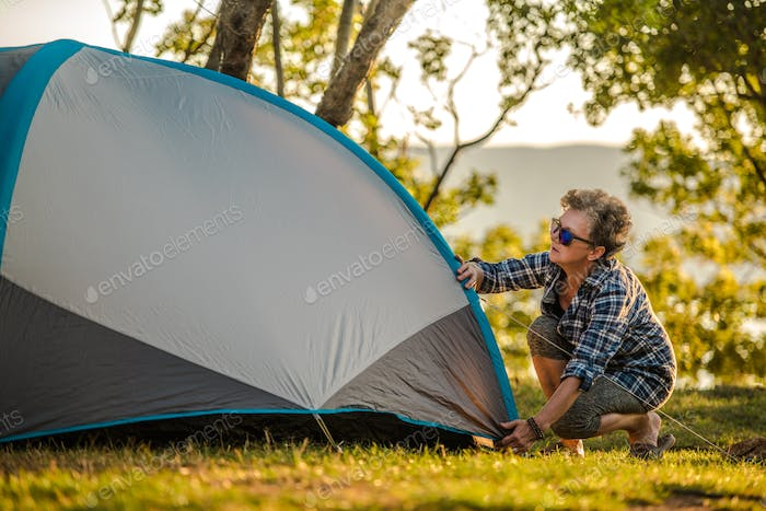 Summer Vacation in a Tent