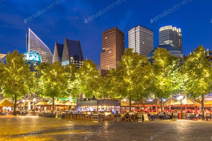 Famous Plein square The Hague