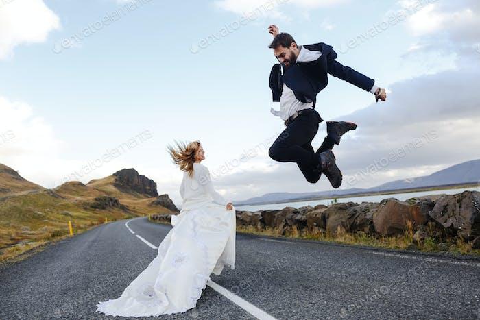 Joyful honeymoon