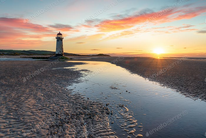 Talacre in North Wales