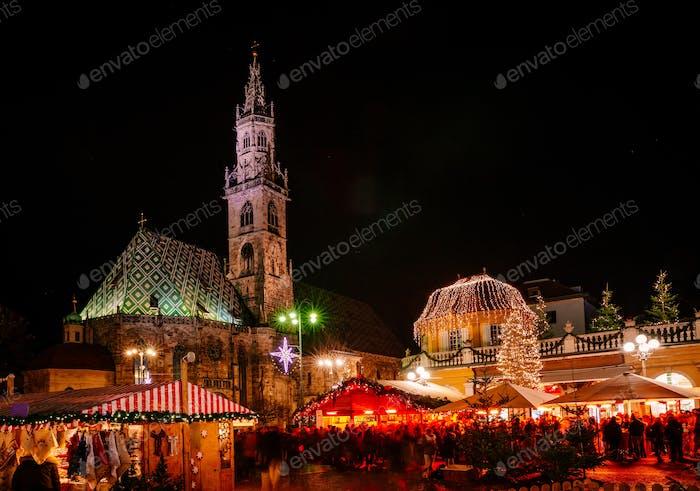 Christmas Market, Vipiteno, Bolzano, Trentino Alto Adige, Italy