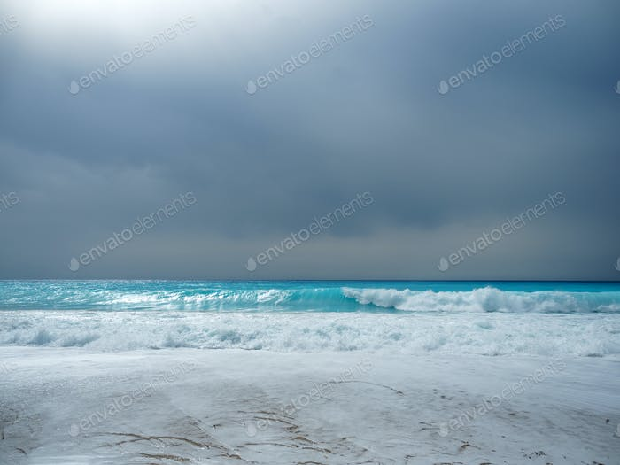 The sea of the Ionian islands