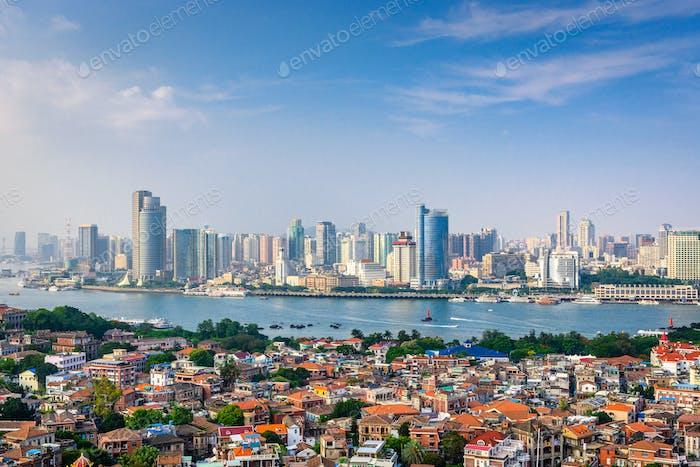 Xiamen, China Skyline