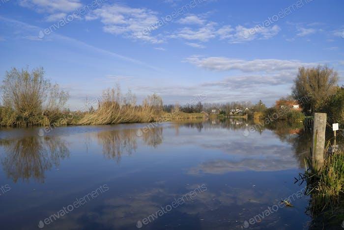 The Giessen river