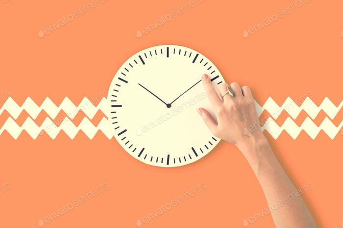 Clock Time Second Minute Hour Puntual Circle Concept