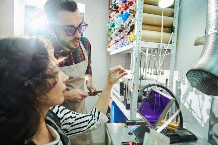 Crafters Glassworking in Studio