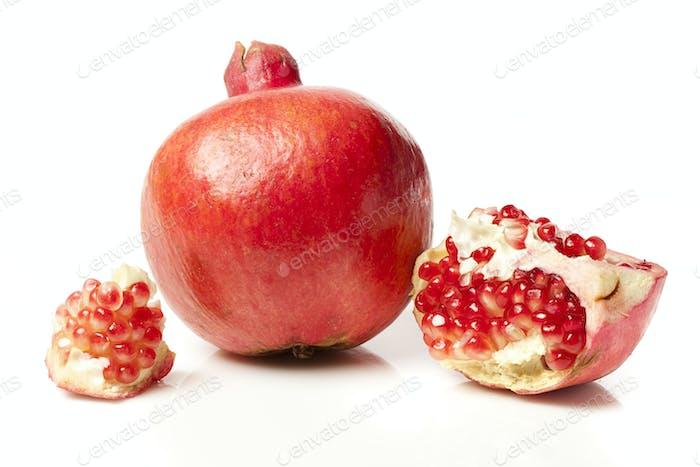 Fresh Organic Red Pomegranate