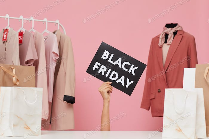 Black Friday in the store