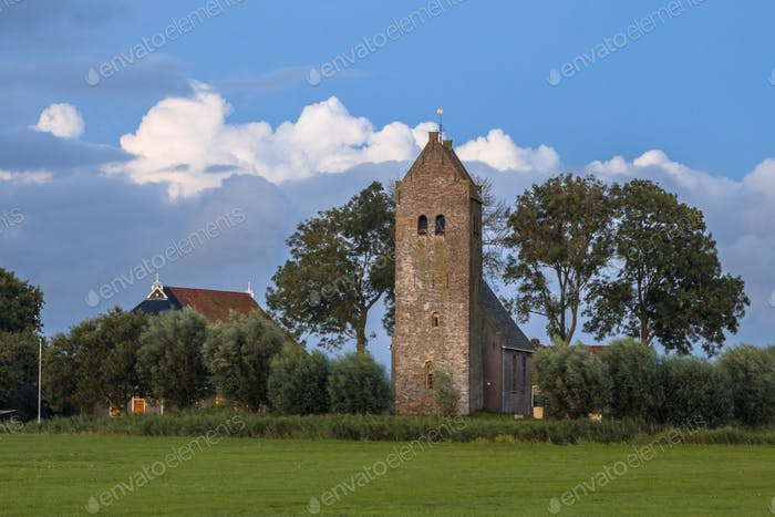 Church with tower