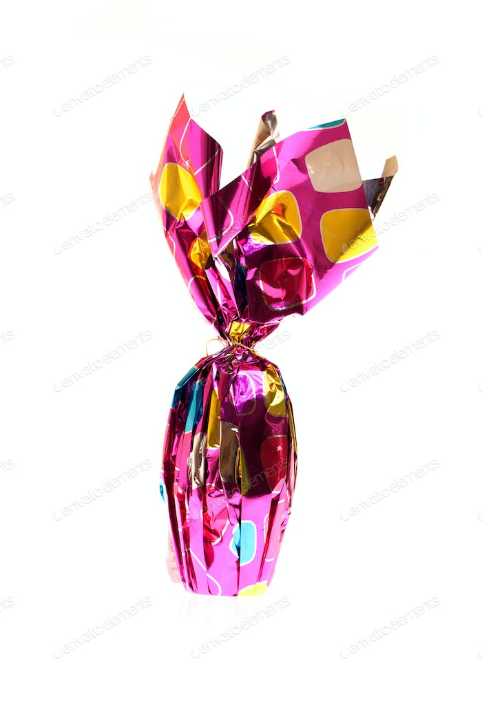 Photo: Easter Egg Wrapped In Foil