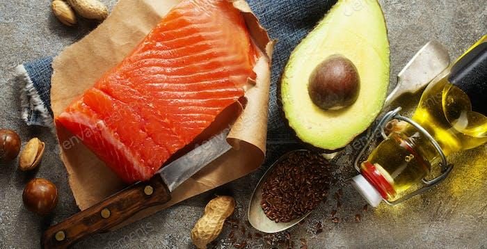 sources of omega-3 acids