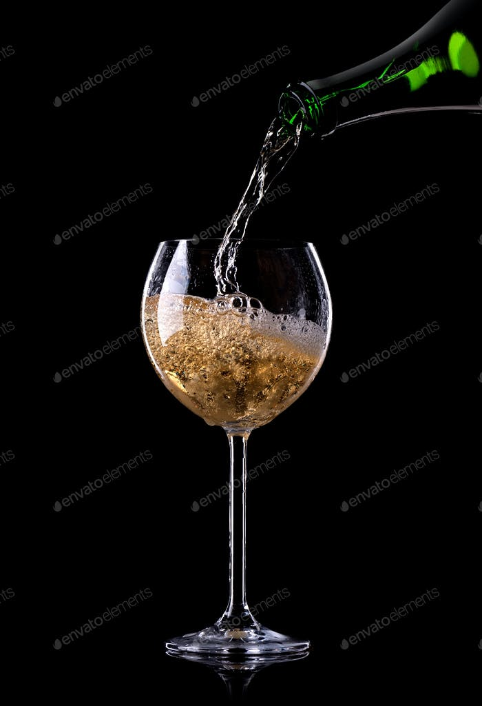 Wunderschöner Champagner
