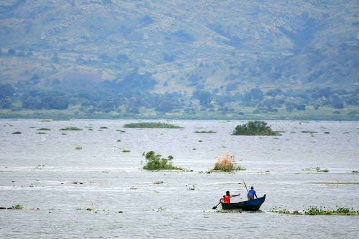 The Nile River, Murchison Falls NP, Uganda, Africa