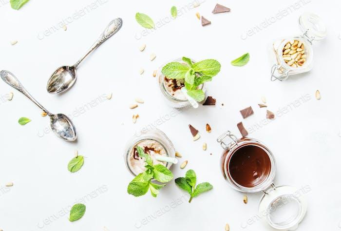 Schokoladenmilchshake