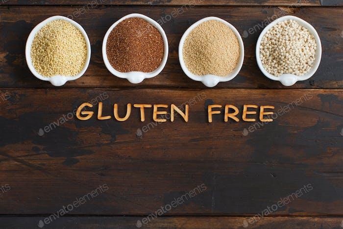 Glutenfreie Körner