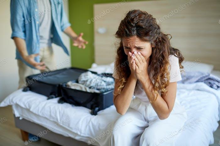 Stress after quarrel
