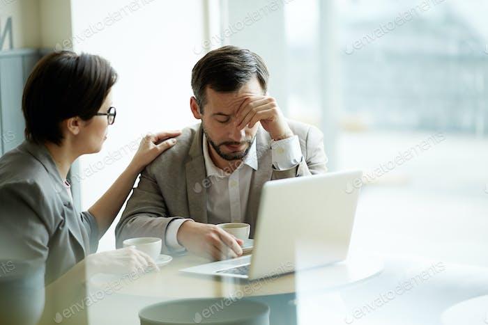 Probleme mit dem Unternehmen