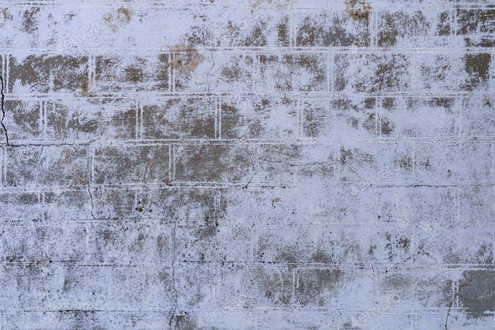 Абстрактный белый кирпичный настенный фактурный фон