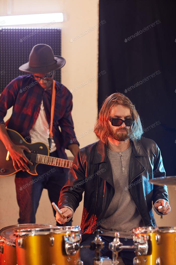 Rockband Musiker