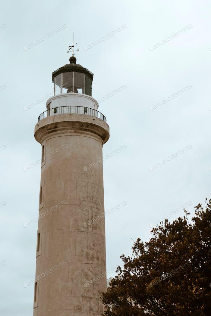 Leuchtturm von Alexandroupolis Stadt in Griechenland