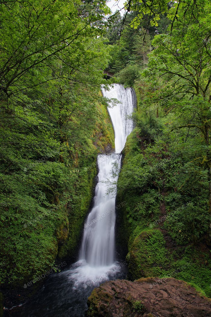 Bridalveil falls. in Columbia River Gorge