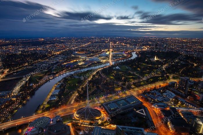 Melbourne Sonnenaufgang