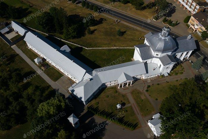 die Kirche der Heiligen Teresa von Avila ist eine katholische Kirche in der Stadt Shchuchin in Belarus.Alt
