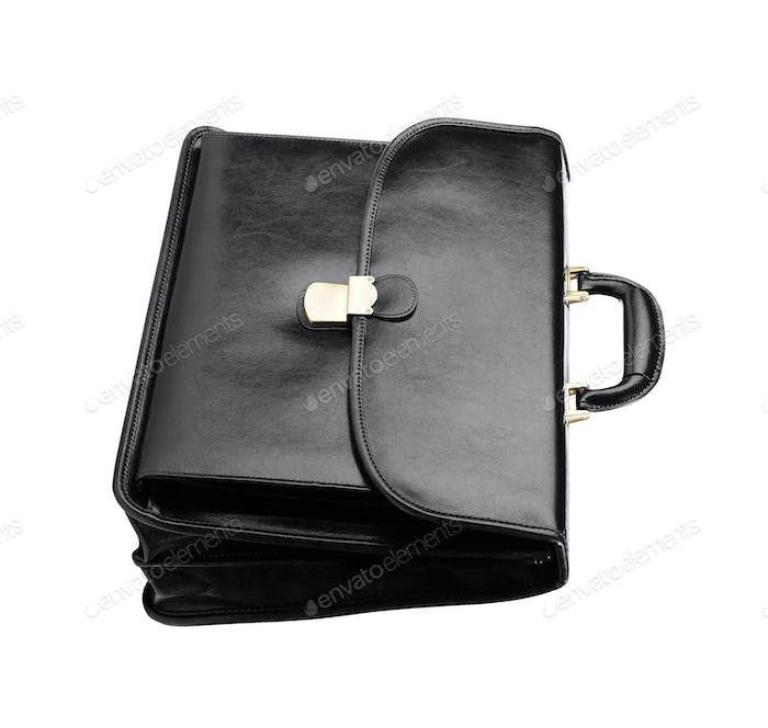 Leather bag isolated