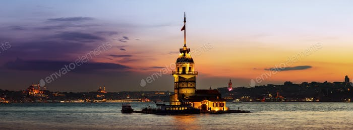 Maiden Tower in Bosforus