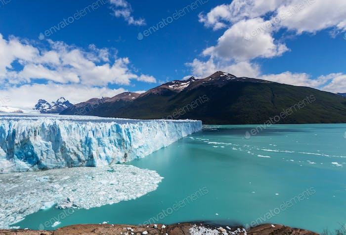Gletscher in Argentinien