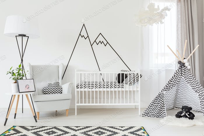 Functional baby room