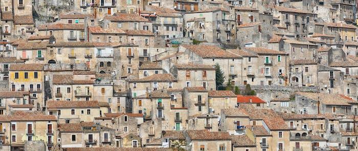View of Morano Calabro
