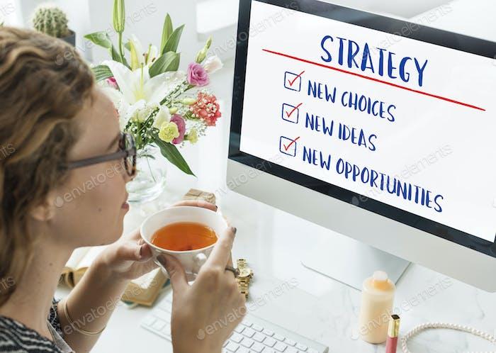 Business Development To Do Listt Goals Concept