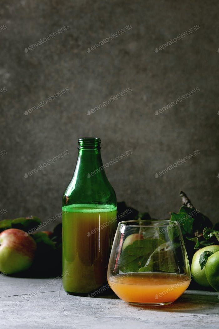 Apple cider drink