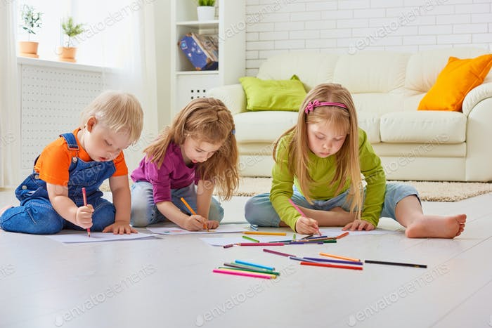 drawing children